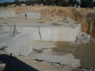 White and Yellow Vimieiro Quarry
