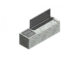 Bench 2+1 Ash-tray_A2c