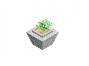 Pyramidal Pot for flowers_C5b