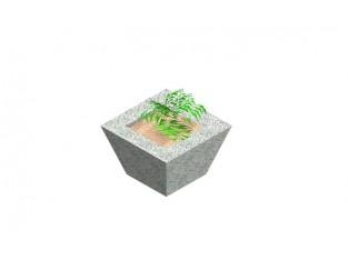 Pyramidal Pot for flowers_C5a
